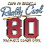 80th Birthday Shirt
