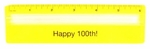 Happy 100th Birthday Magnifying Ruler