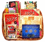 40th Birthday Gift Basket for Men - Our Bestseller