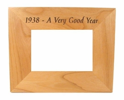 75th Birthday Idea - 1938 Frame
