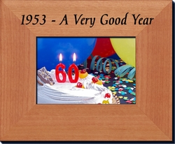 60th Birthday Frame for 1953 or 1954