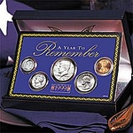 50th Birthday Gift Idea - 1963 Coins