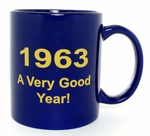 50th Birthday Idea - 1963 Mug