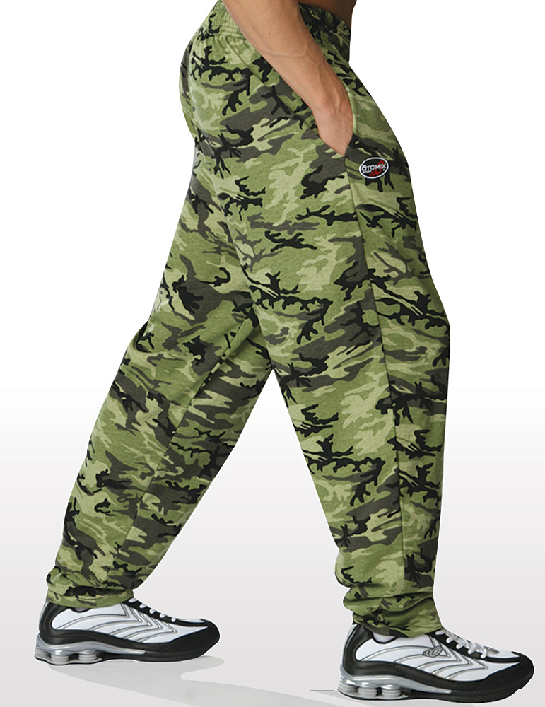 Cool 07 Baggy Camouflage Pants For Women Overalls Multicolour Hip Hop Pants