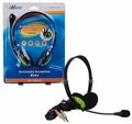 iMicro IM942 Cushioned Stereo Headset with Boom Microphone