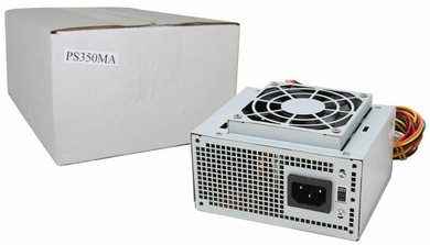 Logisys PS350MA 350 Watt 20+4pin micro ATX Power Supply