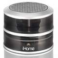 iHome iHM60GY CrystalTunes Portable Speakers - Rechargeable (Grey)