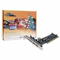 Syba VIA VT6212 4+1 Port PCI USB 2.0 I/O Controller Card