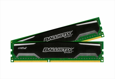 Crucial BLS2KIT4G3D1339DS1S00 Ballistix DDR3 PC3-10600 8GB 2x4GB RAM