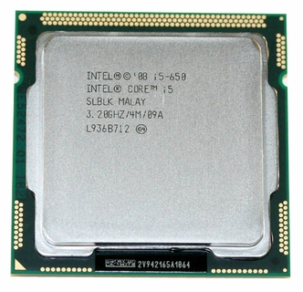 Intel Core I5 650 Dual-Core 3.2GHz LGA1156 73W Processor (OEM)