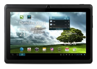 "Kocaso M752 Black WiFi 7"" Android Tablet PC w/ 4GB Storage & 512MB RAM"