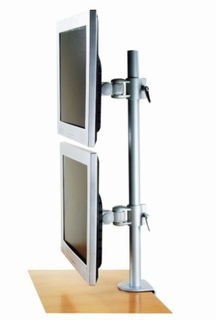 Monmount Vertical Dual Monitor Stand