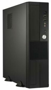 HEC Media Center Black MATX Mini Tower HTPC Computer Case w/ 300W PSU