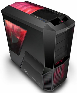 Zalman Z11 PLUS HF1 Mid Tower ATX Gaming Case - RED