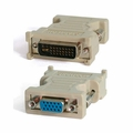 Startech DVIVGAMF Male DVI-I to Female VGA Video Adapter (Beige)