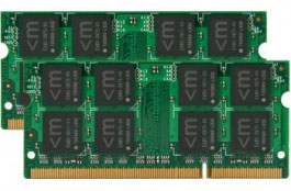 Mushkin 997019 16GB (2x8GB) DDR3-1066Mhz PC3-8500 SODIMM Laptop RAM