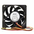 70mm 3-Pin Case Fan (Black)