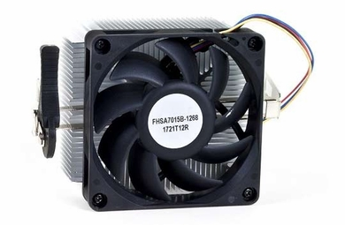 "AMD FHSA7015B-1268 Aluminum Processor Heat Sink & 2.75"" 4-Pin Fan"