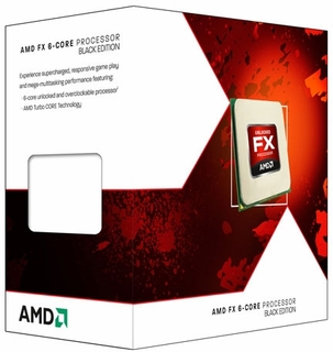 AMD FX-6100 Zambezi AM3+ 95W Hex-Core 3.3Ghz Processor FD6100WMGUSBX
