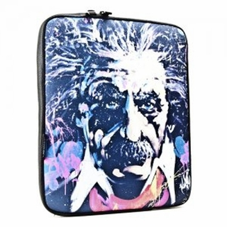 LuxMobile GB8105 David Garibaldi Einstein Neoprene iPad Sleeve