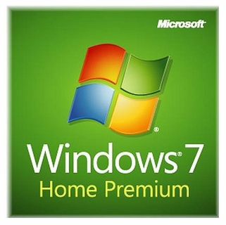 Microsoft Windows 7 Home Premium 32-bit - Full OEM - License & Disk