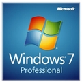 Microsoft Windows 7 Professional 64bit Edition Full OEM License & Disk