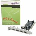 Masscool MTU25 5-Port USB 2.0 PCI Controller Card with USB Header