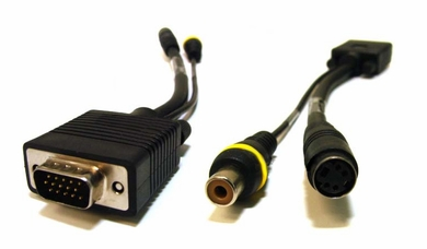 SVGA to Composite (RCA) and S-Video Adapter