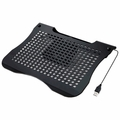 Syba Aluminum Laptop Cooling Stand w/ Adjustable 60mm Fan