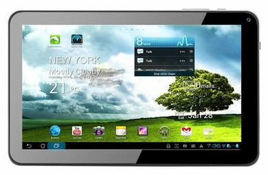 "Kocaso M9100 Cortex A8 1.2 GHz Widescreen 9"" White Android Tablet"