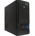 Logisys CS301BK Black ATX Computer Case with Power Supply