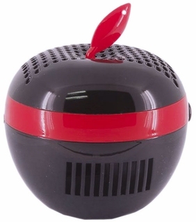 PC Mate AIR100 Apple-Shaped USB Air Purifier (Red)