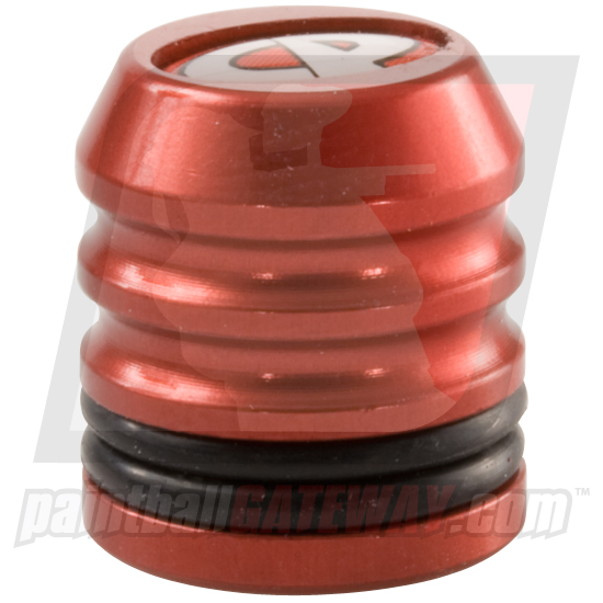 CP Custom Products Compressed Air Tank Fill Nipple Aluminum Dust Cover Cap - Red - (#3S26)