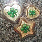 Shamrock Pet Id Tag