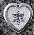 Star Of David Pet ID Tag
