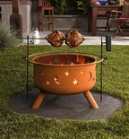 Rotisserie for Sojoe Firepit (FREE GROUND SHIPPING)