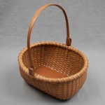 Vintage Nantucket Basket by Jose Formosa Reyes