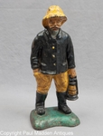 Antique Cast Iron Doorstop - The Patrol