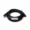 10 Foot 24 AWG CL2 In-Wall Rated HDMI Male/Female Extension Cable