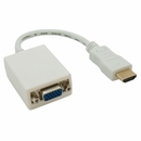 HDMI to VGA Adapter Cable - White
