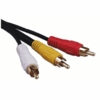 75 Foot Shielded Audio / Video Cables, Gold Plated