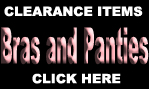 CLEARANCE BRAS AND PANTIES
