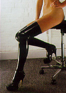 "Rubber Latex Stockings ""PD - 3401"""
