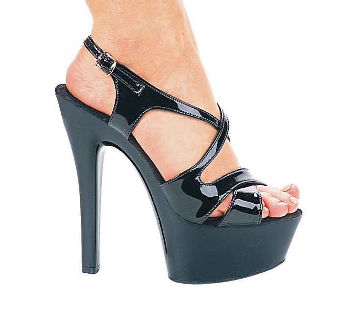 Sexy 6 inch High Heel Platform Shoes with Ankle Strap