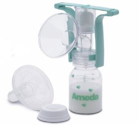 One-Hand Breast Pump with Flexishield