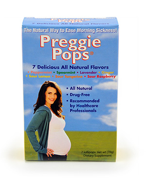 Preggie Pops for Morning Sickness