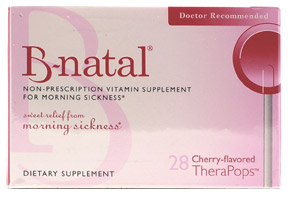 B-Natal Vitamin Supplement for Morning Sickness