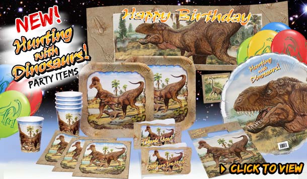 Dino Birthday Supplies
