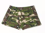 Woodland Camo Hot Shorts