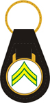 US Army E4 Corporal Key Fob